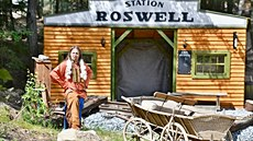 Muž vypátral městečko Roswell z filmu Vinnetou, rudou půdu přivezl do Boskovic