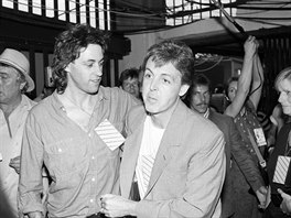 Bob Geldof a Paul McCartney