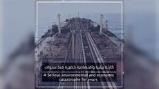 Opuštěný tanker u pobřeží Jemenu může způsobit ekologickou katastrofu