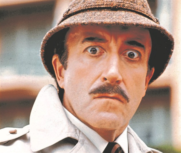 Peter Sellers alias inspektorClouseau