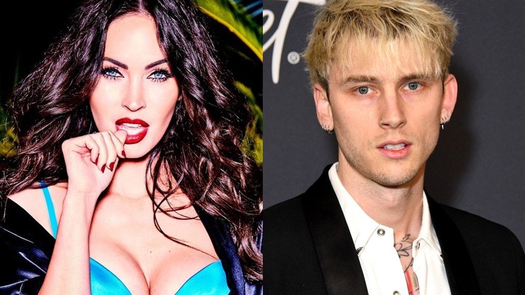 Megan Foxová a Machine Gun Kelly