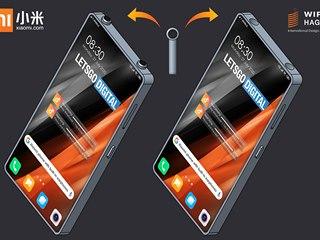 Xiaomi si patentovalo smartphone s integrovanými bezdrátovými sluchátky