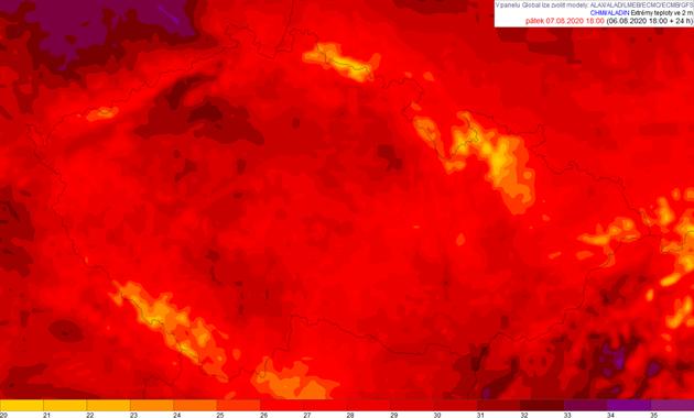 Teploty v Česku dnes dosáhnou až 32 stupňů, tropy vydrží několik dní