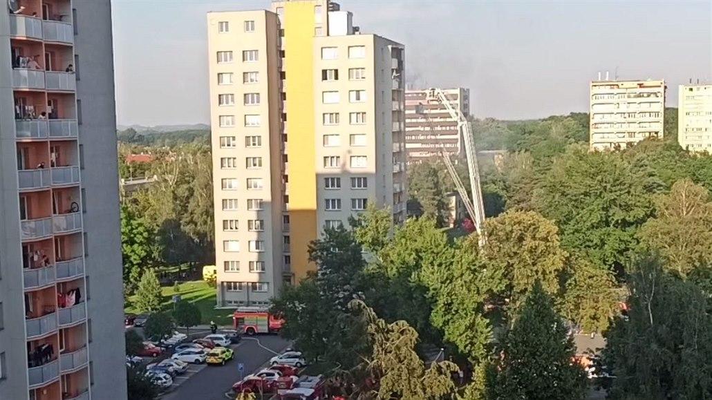 Požár v Bohumíně: zemřelo 8 dospělých a 3 děti, mělo jít o žhářský útok