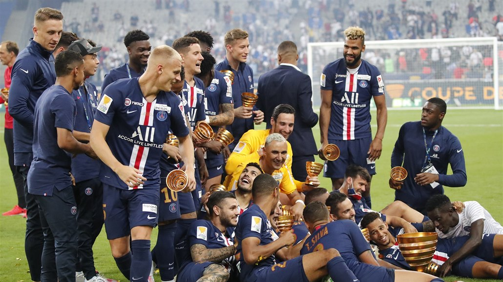 Poslední ročník Ligového poháru ovládli fotbalisté Paris St. Germain