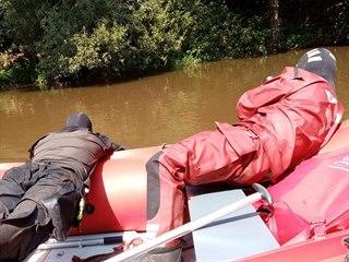 Potápěči na Kutnohorsku nalezli těla dvou pohřešovaných mladíků. (9. srpna 2020)