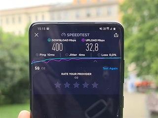 Test 5G sítě operátora O2 a kompatibility s jednotlivými telefony