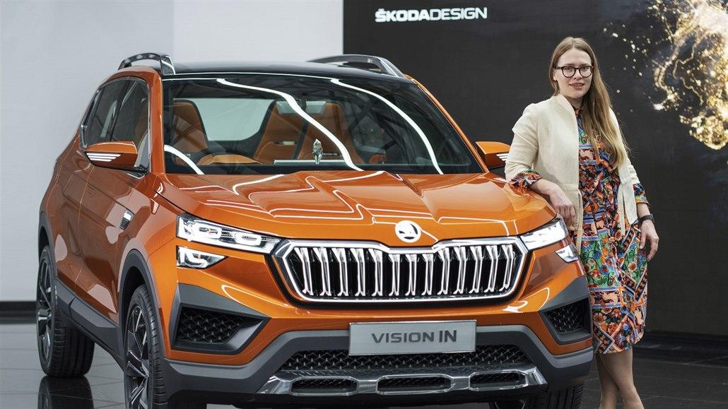 Škoda má designové studio v Indii. Velí mu mladá designérka