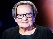 Hostem Rozstřelu je polská režisérka Agnieszka Hollandová. (18. srpna 2020)