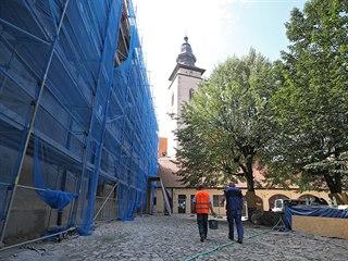 Rekonstrukce telečského zámku se koná za částečného provozu. Přístupná je ale...
