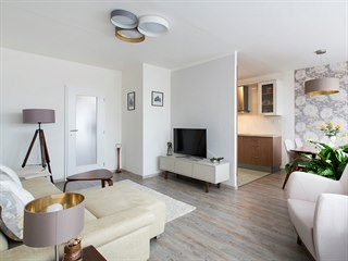 Celá revitalizace bytu trvala téměř tři roky, vše se tvořilo postupně, podle...
