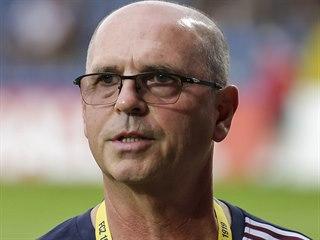 Zlínský trenér Bohumil Páník.