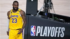 LeBron James z Los Angeles Lakers prošel do druhého kola play off.