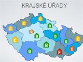 K-index krajských úřadů.