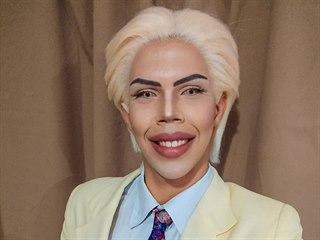 Felipe Adam a jeho finální podoba make-upu, který tvoří čtyři hodiny.