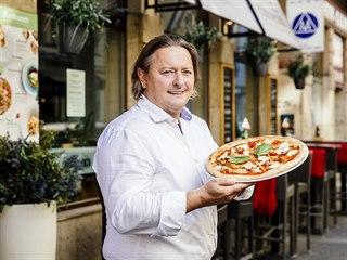 Jan Mužátko, majitel restaurací Pizza Coloseum