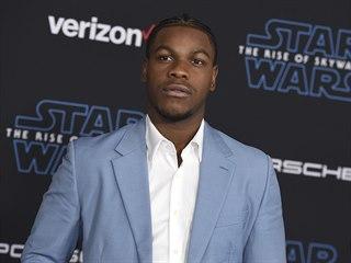 John Boyega na světové premiéře Star Wars: Vzestup Skywalkera v Los Angeles....