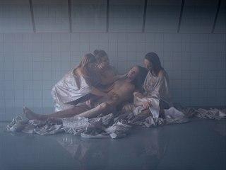 """Promofotografie k představení Happy End v Hotelu """"Chateau Switzerland"""""""