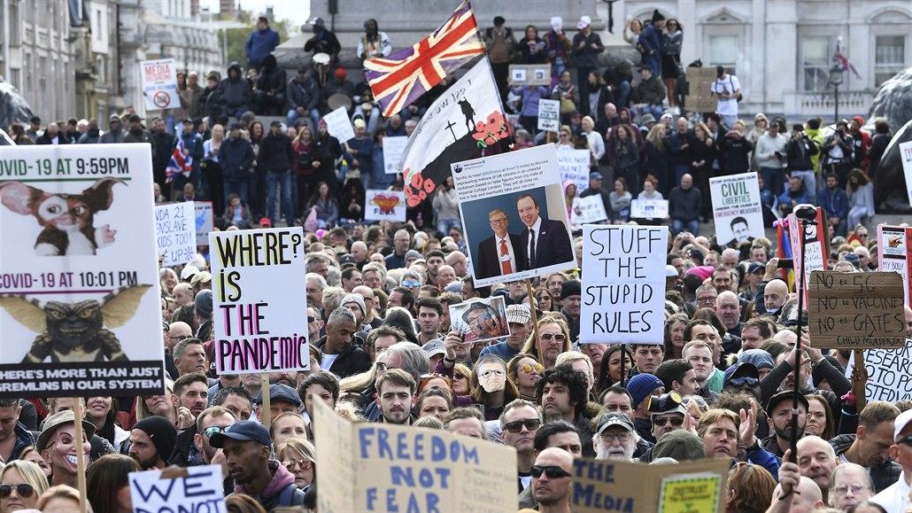 Britští obchodníci porušují uzávěru. Ohánějí se dokumentem z roku 1215