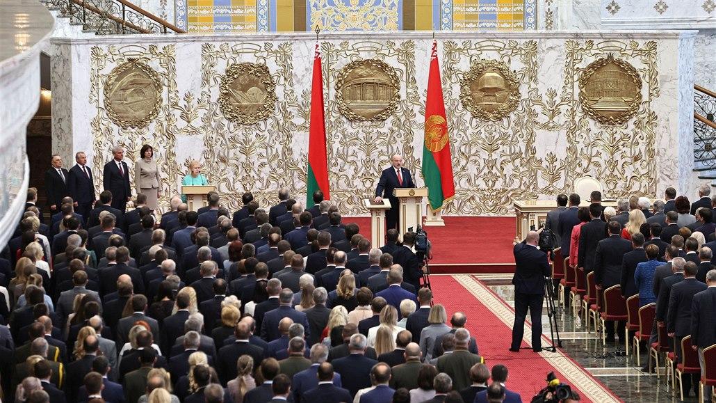 Lukašenko ne. MOV neuznal volbu diktátorova syna do čela olympijského výboru