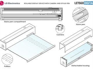 LG si nechalo patentovat smartphone ve tvaru hranolu, v jehož útrobách se...