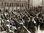 Polský tlak přinesl ovoce. Jejich válka s bolševiky se chýlila ke konci