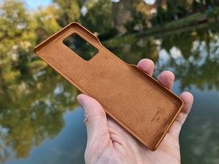 Kožené pouzdro pro Samsung Galaxy Z Fold 2