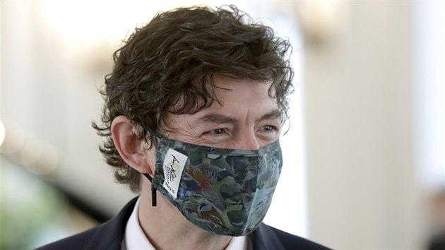 Německý virolog Christian Drosten (1. října 2020)