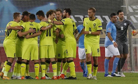 Testy v národním fotbalovém týmu odhalily jeden zápas pro Nacina