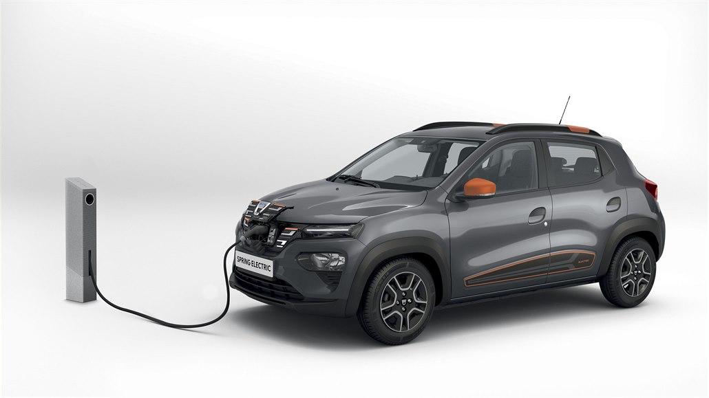 Nejlevnější elektromobil bude nejdražší dacie. Spring jede nejvíc 125 km/h