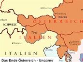 Před 100 lety přišli Rakušané o Jižní Tyrolsko