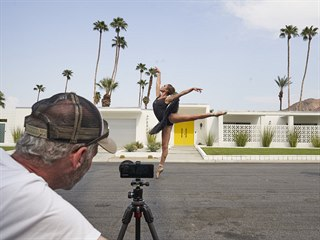 Krátkometrážní film Twin Palms natočil newyorský režisér, kameraman a fotograf...