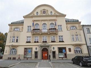 Budova humpolecké radnice začala sloužit v březnu roku 1914, tedy v době, kdy...