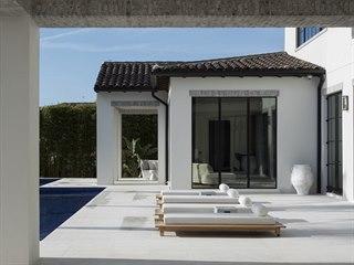 Samozřejmou součástí domu na Floridě je bazén.