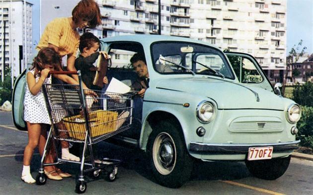 Autofotka týdne: Záporožec, lidový automobil Ukrajinců, vyjel před 60 lety