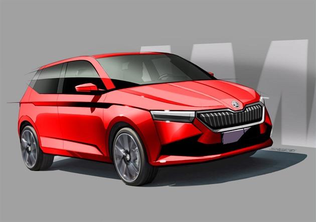 Nová Škoda Fabia dorazí příští rok. Nechali jsme si ji namalovat