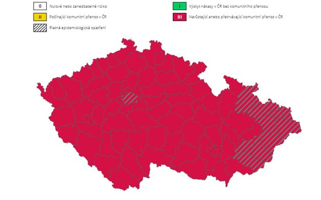Semafor krajù v Èesku (24. øíjna 2020)
