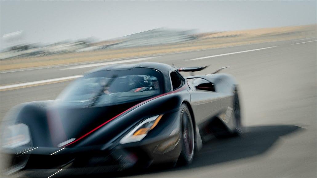 Nové nejrychlejší auto světa jede 533 km/h, je to americká SSC Tuatara