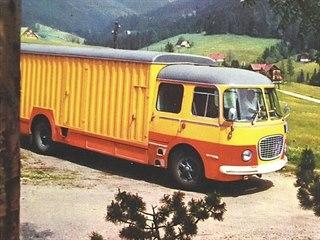 Stěhovací automobil Škoda 706 RTO-S