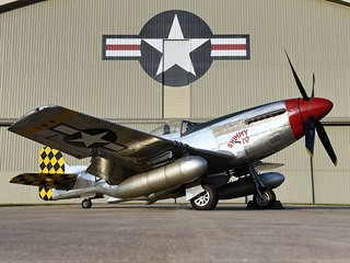 North American P-51D Mustang, exponát Národního muzea letectva Spojených států...