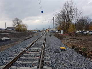 Vývoj rekonstrukce části trati mezi Litvínovem a Loukou u Litvínova.