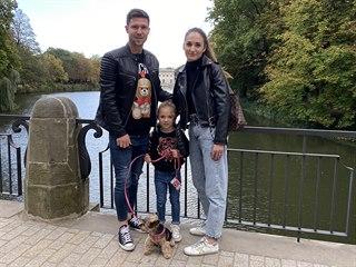 Tomáš Přikryl si štaci v Polsku užívá se ženou Anetou, dcerou Victorií a...