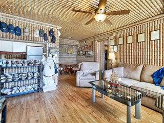 Americký válečný veterán Mike Amelotte si své bydlení na Floridě v Lake Worth...