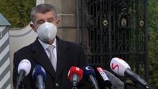 Doufám, že ve čtvrtek uvedu nového ministra do funkce, oznámil Babiš v Lánech