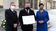 ODS, KDU-ČSL a TOP 09 se dohodly, že půjdou do voleb společně