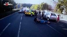 K pětině smrtelných nehod dochází na přechodu