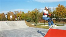 Kvůli covidu otevřeli skatepark bez ceremonií