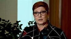 Je to odporné, okomentovala incident z Dauhá australská ministryně zahraničí