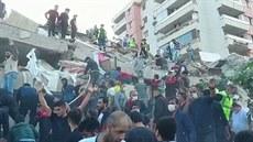 Turecko zasáhlo silné zemětřesení. Epicentrum bylo v Egejském moři