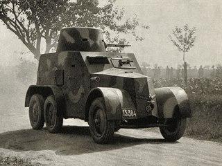Československá armáda 1918–1939. Lehký obrněný automobil vzor 30 vyráběla Tatra